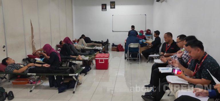 Sebagai Bentuk Syukur, Alfamart Gelar Donor Darah