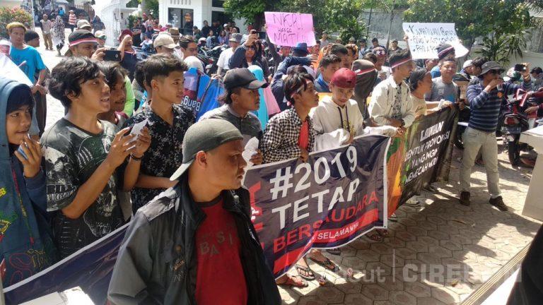 Ajak Jaga Keberagaman Indonesia, Kompak Gelar Aksi di DPRD Kota Cirebon