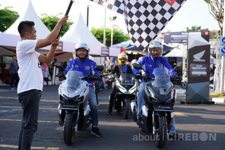 ADV150 Urban Exploride, Ajak Konsumen dan Komunitas Kunjungi Tempat Bersejarah di Cirebon