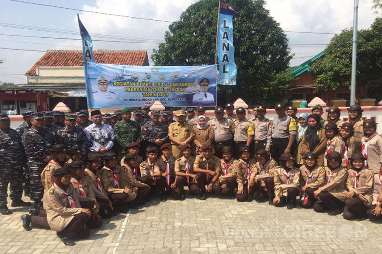 Hari Armada 2019, Lanal Cirebon Gelar Bakti Sosial di Desa Bungko Lor