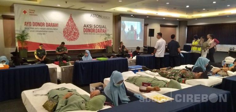 Gandeng PMI Kabupaten Cirebon, Aston Cirebon Hotel Gelar Donor Darah Rutin