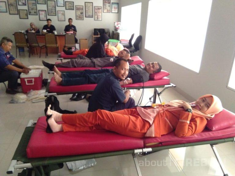 Gandeng PMI Kota Cirebon, RSIA Cahaya Bunda Gelar Donor Darah