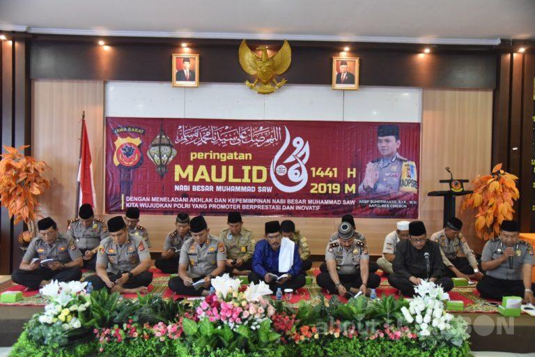 Polres Cirebon Peringati Maulid Nabi Besar Muhammad SAW