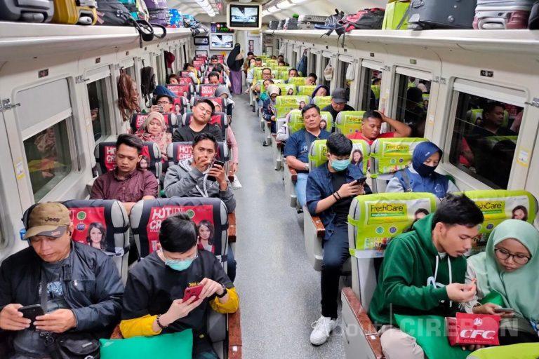 Trend Penumpang Libur Nataru di Daop 3 Cirebon Meningkat