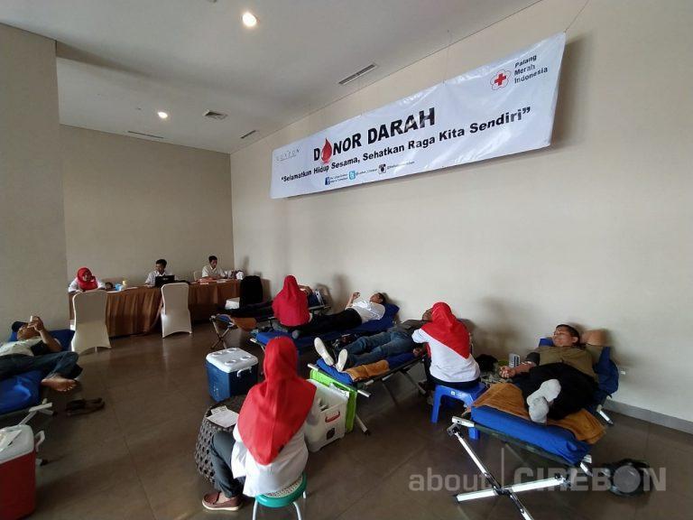 HUT Ketiga, Hotel Luxton Cirebon Gelar Aksi Donor Darah