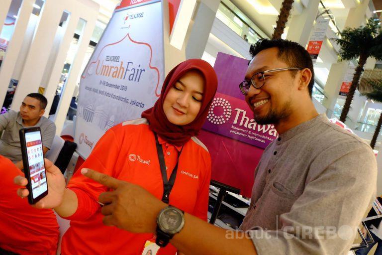 Berikan Kemudahan Kepada Calon Jamaah Umrah, Telkomsel Tawarkan Berbagai Paket dan Layanan Data di Telkomsel Umrah Fair 2019