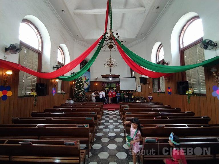 Jelang Natal, Gereja Kristen Pasundan Kota Cirebon Mulai Melakukan Persiapan