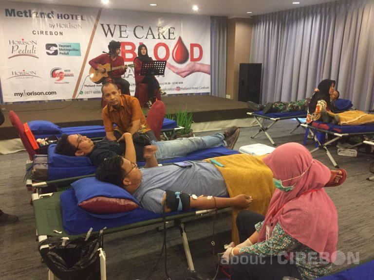 Hari Kesetiakawanan Nasional, Metland Hotel Cirebon Gadeng PMI Gelar Donor Darah