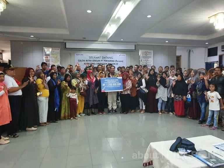 Pertamina MOR III Salurkan Program Kemitraan Rp 1,2 Milyar di Wilayah Jawa Barat