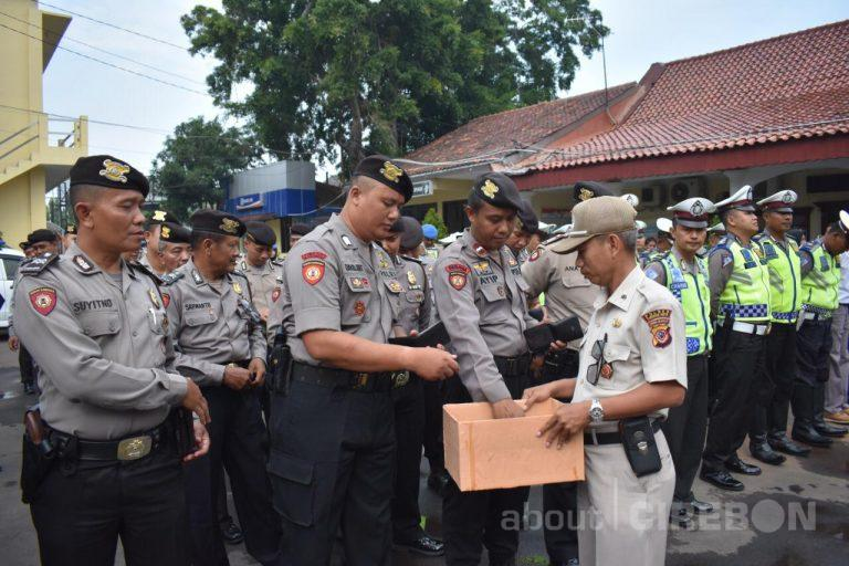 Polres Cirebon Kota Galang Dana Untuk Korban Bencana Alam