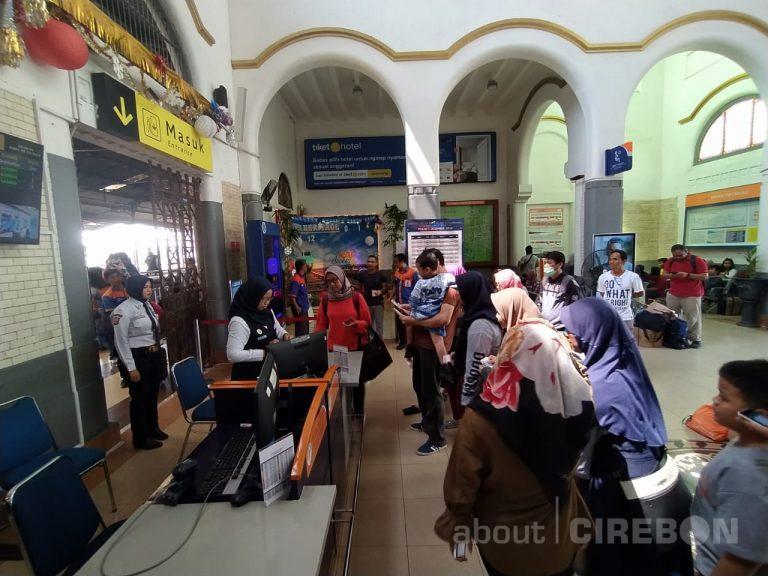 Keberangkatan di Daop 3 Cirebon Alami Peningkatan Sebesar 6 Persen