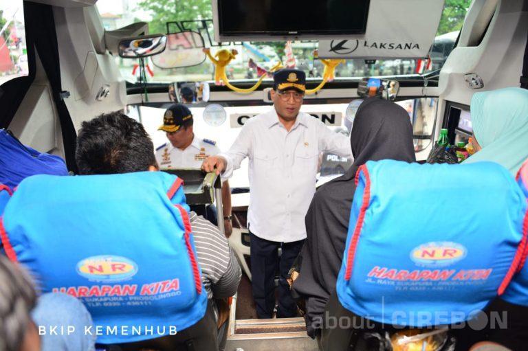 Pastikan Kenyamanan Penumpang Bus, Menteri Perhubungan Tinjau Terminal Harjamukti