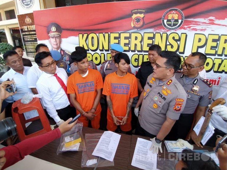 Satreskrim Polres Cirebon Kota Tangkap Tersangka Spesialis Perampasan Handphone