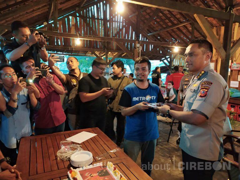 Peringati HPN 2020, Kapolresta Cirebon Apresiasi Kinerja Jurnalis