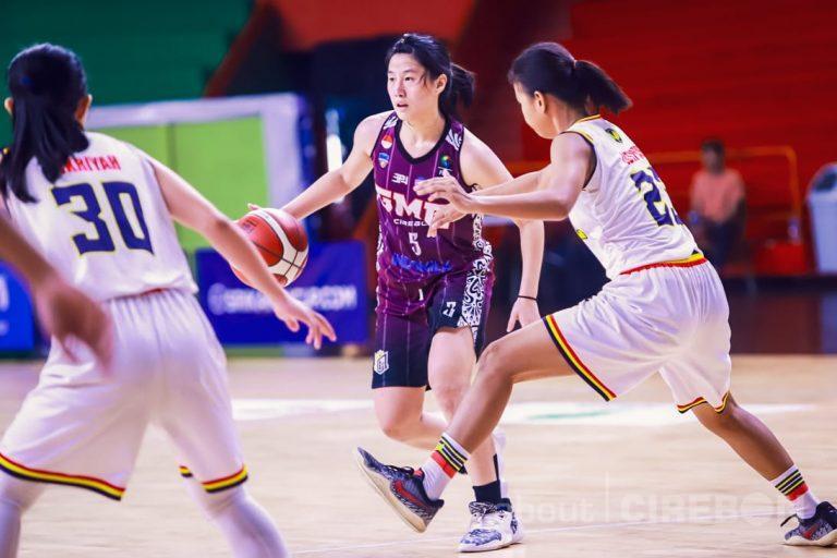 Tim Basket Putri GMC Cirebon Taklukan Flying Wheel Makassar di Srikandi Cup Seri 2