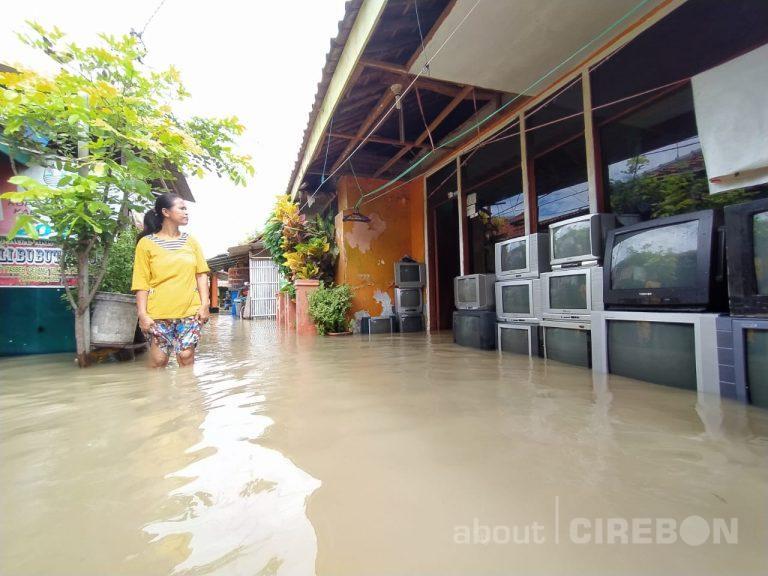 10 Kecamatan di Kabupaten Cirebon Terendam Banjir