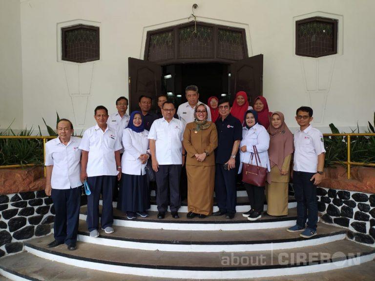 Bertemu Pemkot Cirebon, Sekjen PMI Apresiasi Lahan untuk Markas PMI Kota Cirebon