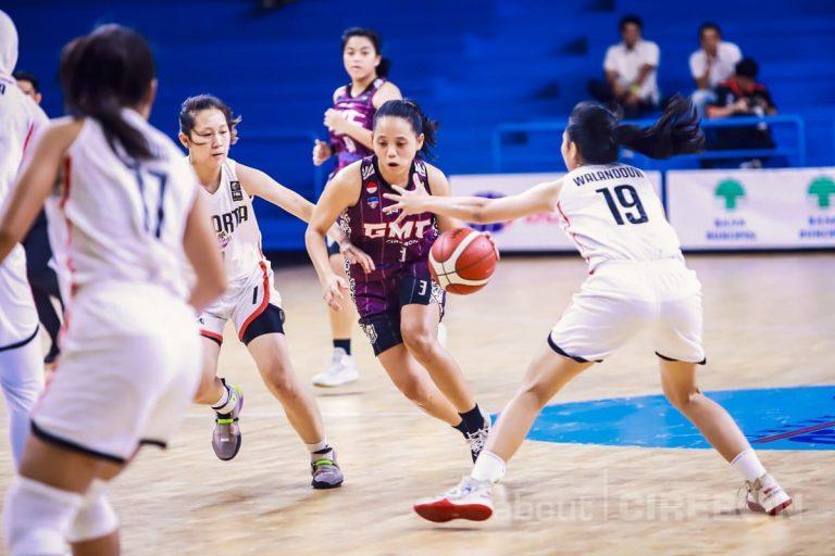 Tim Basket Putri GMC Cirebon Bangkit dari Kekalahan