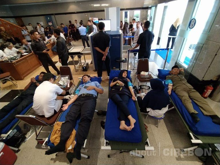 Rutin Gelar Donor Darah, Bank Indonesia Cirebon Peduli Persediaan Darah di PMI