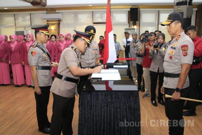 AKBP Syamsul Huda Resmi Jabat Kapolres Cirebon Kota Gantikan AKBP Roland Ronaldy