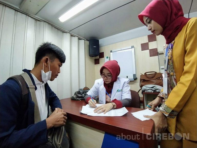 Rail Clinic Hadir di Stasiun Cirebon Untuk Cek Kesehatan Gratis dan Sosialisasi Virus Corona