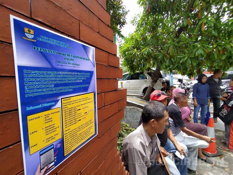 Disdukcapil Kota Cirebon Tidak Melayani Tatap Muka, Masyarakat Bisa Mengajukan Melalui Online