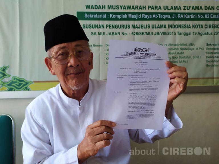 Ketua MUI Kota Cirebon: Semua Masjid di Kota Cirebon Tetap Melaksanakan Sholat Jumat
