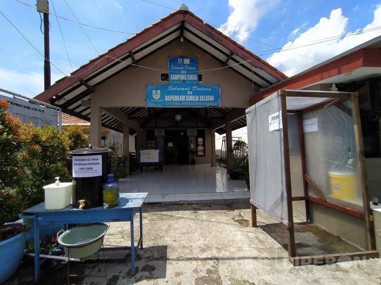 RW 08 Simaja Selatan Kota Cirebon Siapkan Bilik Disinfektan dan Ruang Isolasi Mandiri