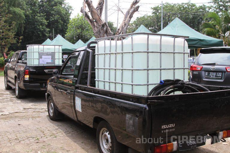 Turut Perangi Covid-19, Cirebon Power Salurkan Ribuan Liter Disinfektan
