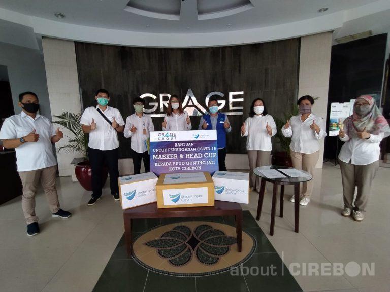 Grage Group Serahkan Bantuan APD Untuk Tenaga Medis di RSD Gunung Jati dan Dinas Kebakaran