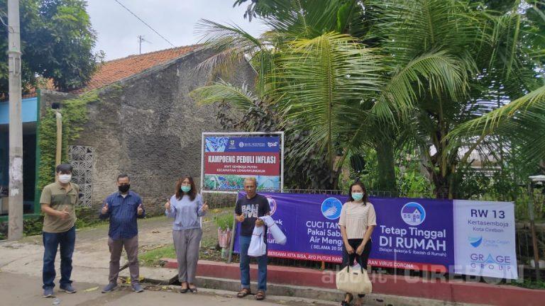 Grage Group Serahkan Bantuan Sarana Sosialisasi Pencegahan Covid-19 di Lingkungan Unit Usaha