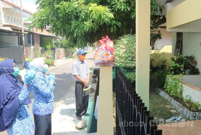 Wakil Wali Kota Cirebon Temui ODP Positif Hasil Rapid Test
