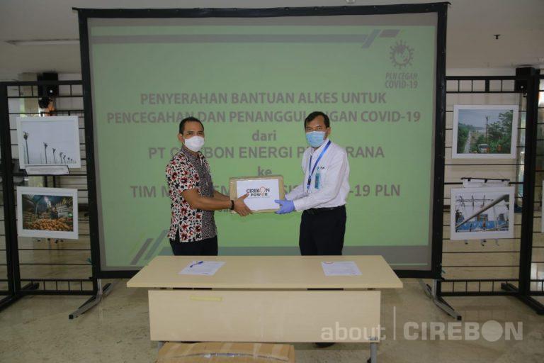 Cirebon Power Salurkan Donasikan Alat Kesehatan ke Wisma Atlet