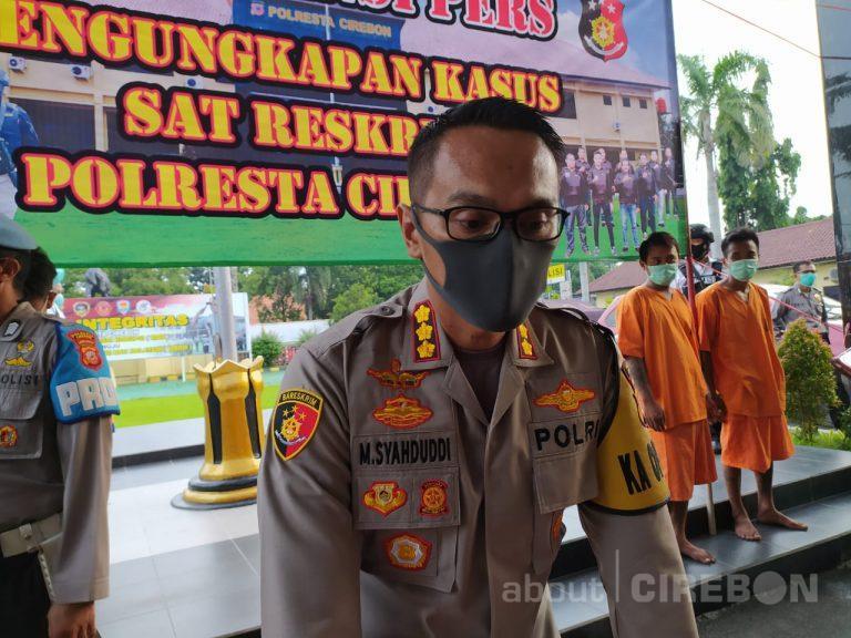 Selama PSBB, Polresta Cirebon Tilang Puluhan Kendaraan Travel Gelap