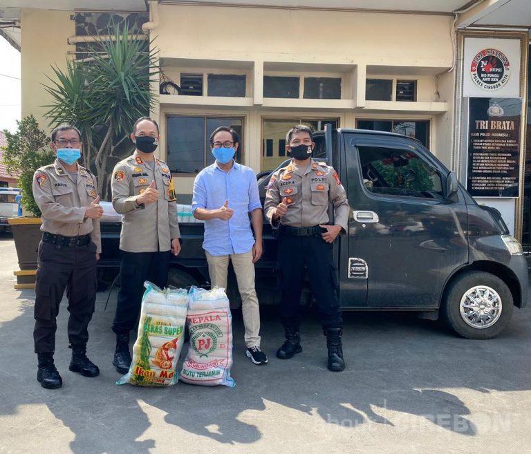 RSIA Cahaya Bunda Kembali Salurkan Donasi Melalui Dua Polres di Cirebon