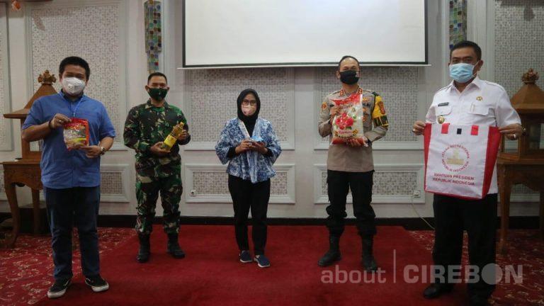 Pemerintah Kota Cirebon Terima 5.000 Bantuan Sembako Dari Presiden