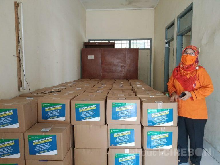 Puluhan Ribu Paket Sembako Siap Didistribusikan Untuk Warga Kabupaten Cirebon