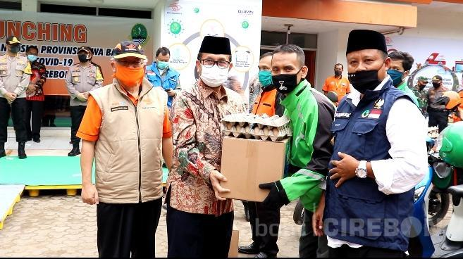 71 Ribu Paket Sembako Mulai Didistribusikan Untuk Warga Kabupaten Cirebon