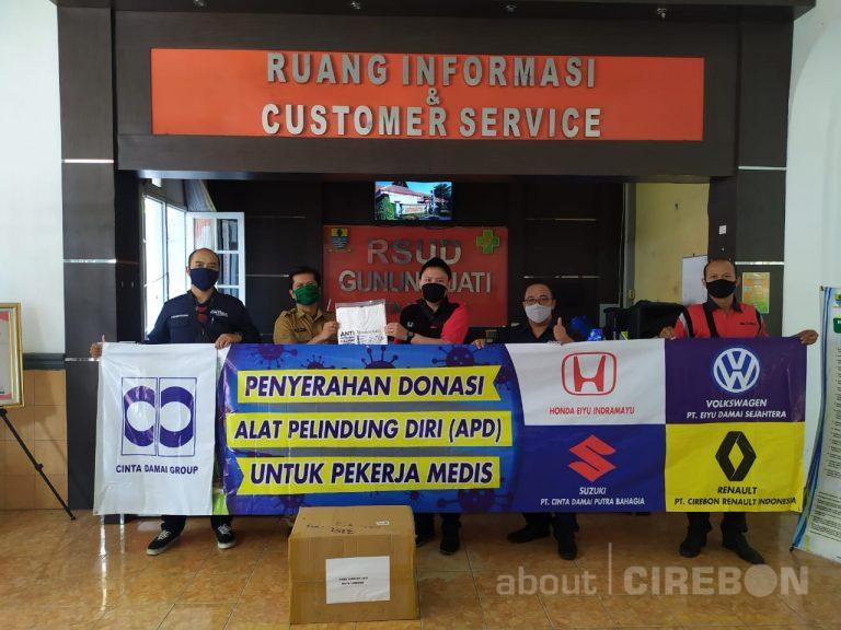 Cinta Damai Group Berikan Donasi APD Untuk RS Rujukan Covid-19