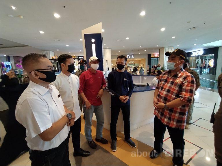 PSBB Hari Kedua, Wali Kota Cirebon Sidak Pusat Perbelanjaan