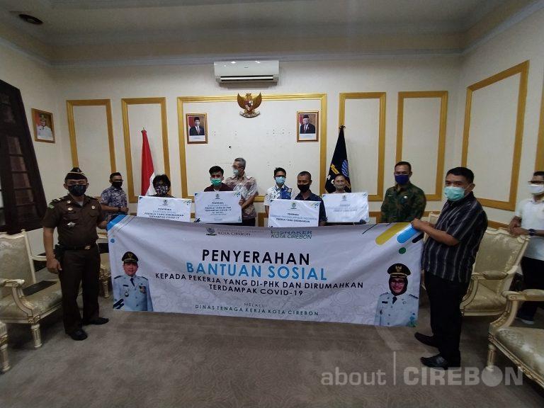 Karyawan Kena PHK dan Karyawan Dirumahkan Dapat Bantuan Dari Pemda Kota Cirebon