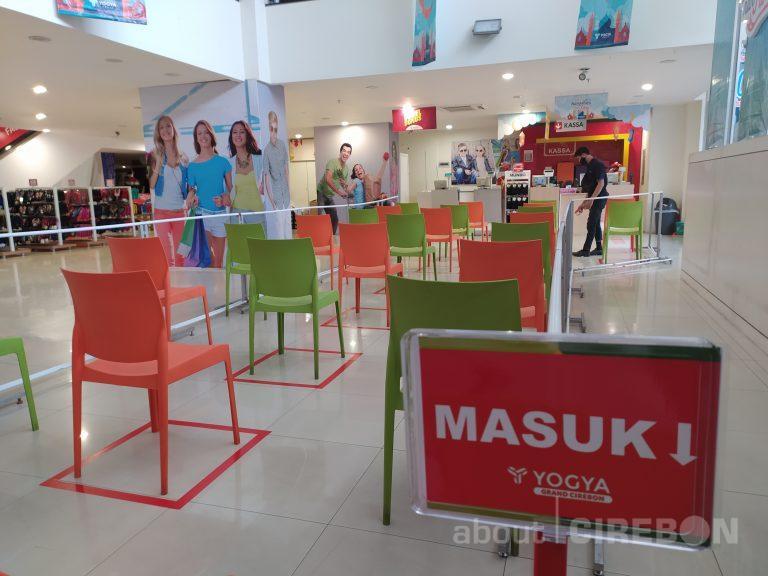 Pusat Perbelanjaan di Kota Cirebon Mulai Persiapkan Untuk PSBB Tahap Kedua