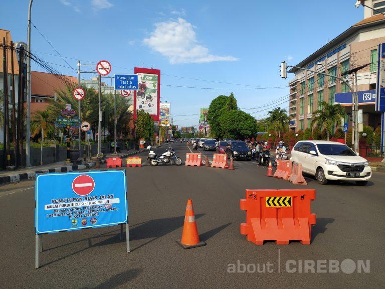 Inilah Tujuan Penutupan  7 Ruas Jalan di Kota Cirebon Selama PSBB