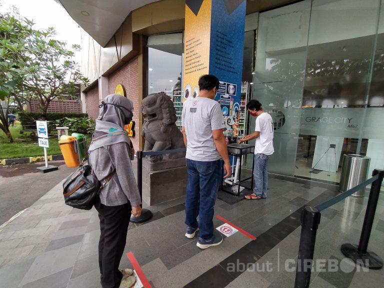 Grage City Mall dan Grage Mall Terapkan Protokol Kesehatan