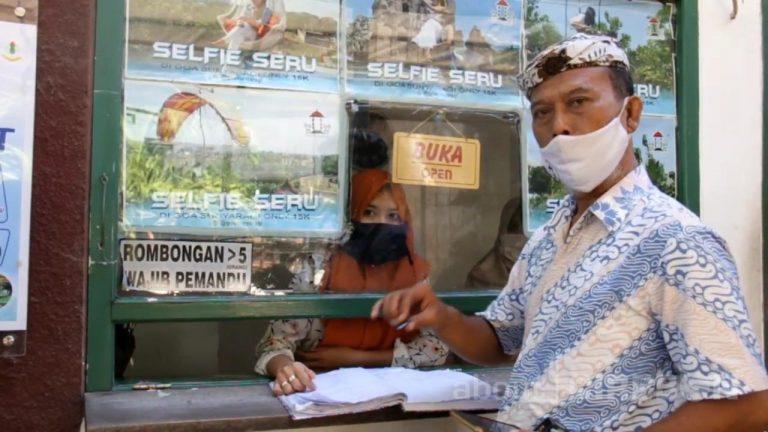Objek Wisata Goa Sunyaragi Cirebon Mulai Ramai Dikunjungi Wisatawan