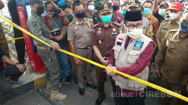 Mulai Hari Ini Pasar Sumber Cirebon Kembali Dibuka