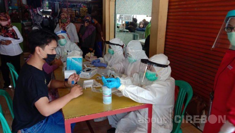Dinkes Kota Cirebon Kembali Lakukan Rapid Test Massal, ini Hasilnya
