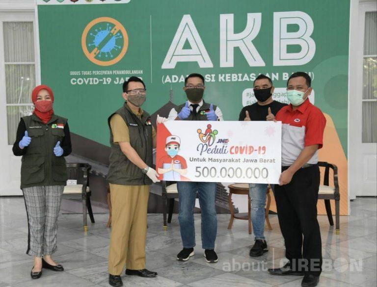 Turut Perangi Covid-19, JNE Berikan Donasi Ke Pemprov Jawa Barat