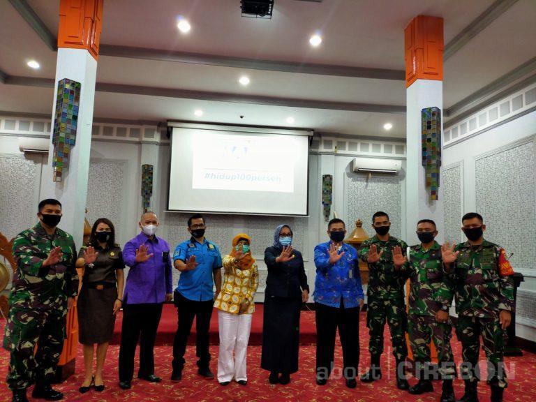 Peringati HANI 2020, BNN Kota Cirebon Deklarasikan 3  Kelurahan Bersinar