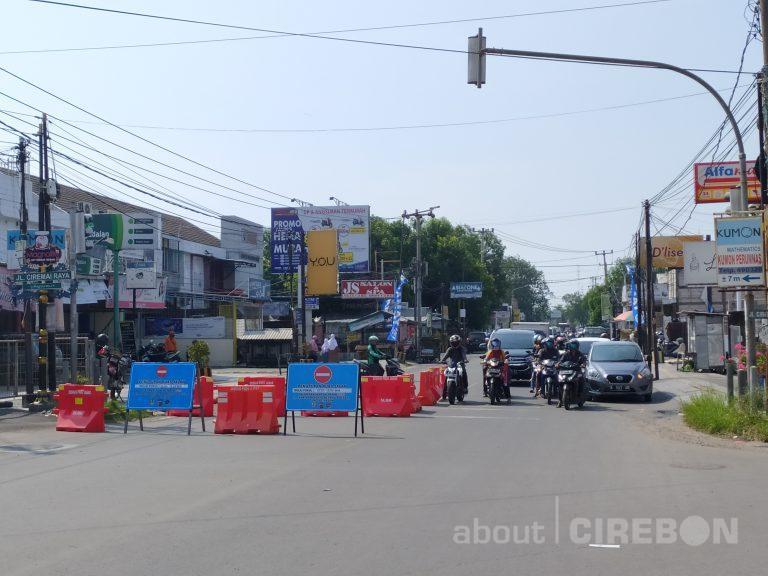 8 Ruas Jalan di Kota Cirebon, Masih Pengalihan Arus Sampai 12 Juni 2020